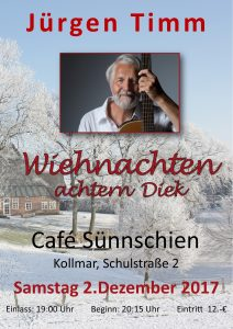 Café Sünnschien Wiehnachten achtern Diek 01 2017