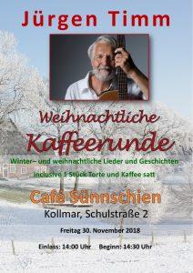 Café Sünnschien Wiehnachtliche Kaffeerunde 2017